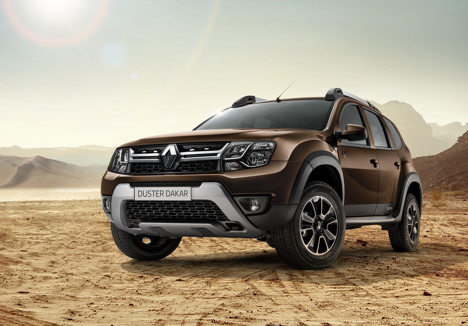 Рено Duster получил версию Dakar Edition